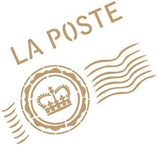 Scrapbooking 40pcs Pochoirs avec Lettres de lalphabet travaux manuels Peinture IWILCS Dessins Pochoir /à Lettres pour Journal