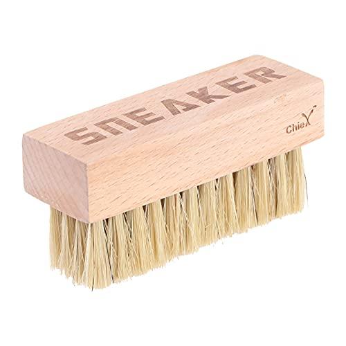 Holibanna Schuhbürste Holz Lederpflege Schuh Reinigung professionelle Schuhpflege Reinigung Pinsel Haushalt Schuhe Waschen Schrubben Pinsel