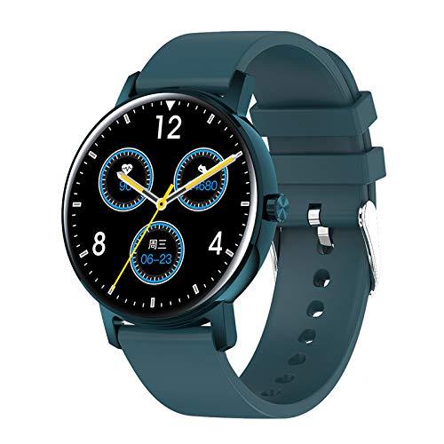 """LIQIANG Smart Watch, Reloj Inteligente Hombre Pantalla De 1,2"""", Pulsera Actividad con Monitor De Sueño Contador, Pulsómetro, Cronómetros, Calorías Podómetro"""