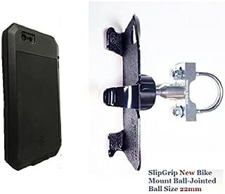 SlipGrip U-Bolt Bike Holder for Apple iPhone 8 Using LUNATIK Taktik Extreme Case