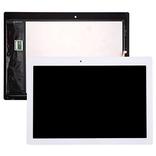 Ersatzteile Kompatibel mit Lenovo Tab 2 A10-70 / A10-70F LCD-Display + Touchscreen-Digitizer-Baugruppe Für Mobiltelefone (Color : White)
