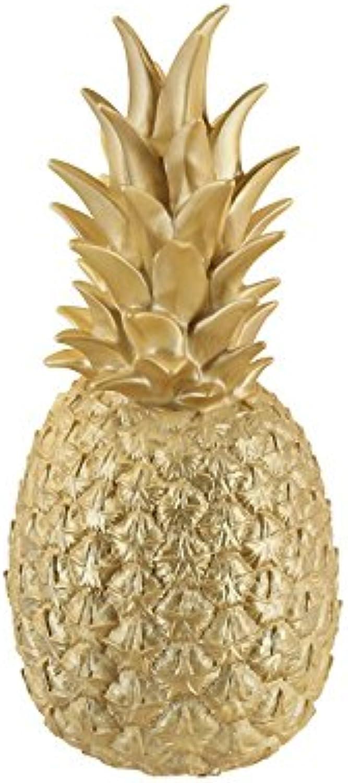 Goodnight Light Lampe Ananas, Gold