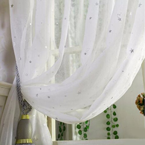 QPGGP Rideaux L'Écran Moderne De Salon Chambre Simple, Shirasa Sa Fleur De Cerisier De Type Crochet 1,5 Mètres De Large, * 2,65 Mètres 2 Morceaux,A