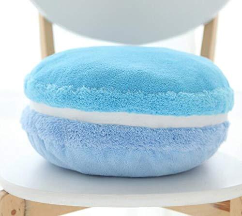LEV Cushion - Macaron Shape Plush Cushion Round Cake Pillow Sofa Decoration Home Decor Wedding Cushion Christmas Birthday Gift 1pc - by 1 PCs