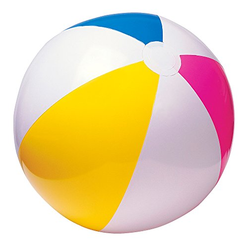 Intex Glossy Panel Ball - Aufblasbarer Wasserball / Strandball -  Ø 61 cm