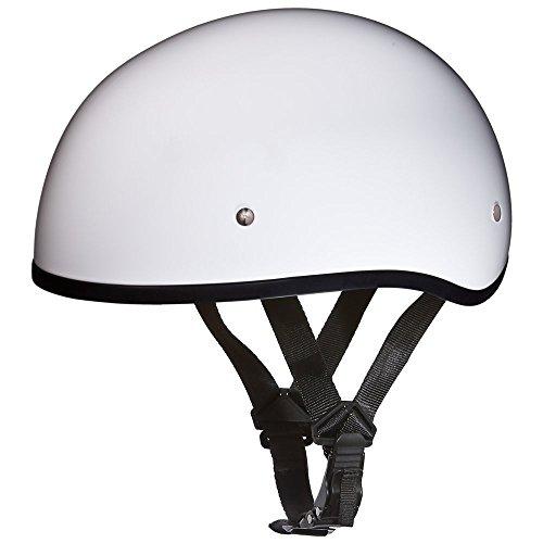 Daytona Helmets Motorcycle Half Helmet German Dull Black 100/% DOT Approved