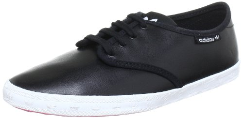 adidas Damen Adria PS Low-top, Schwarz (Black 1 / Black 1 / White), 38 2/3 EU