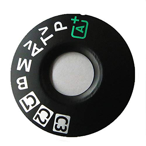 Camera Top Mode Dial Cover Lid Cap Function Mode Dial Signage Interface Cover Button Replacement for Canon EOS 5D Mark III 5D3 5DIII