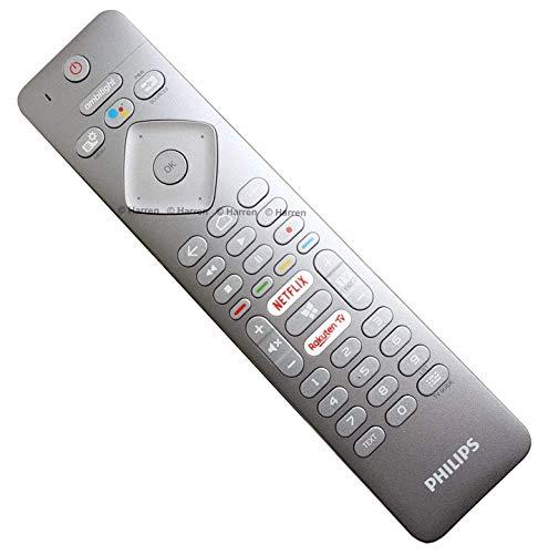 Philips RC4154401/01R 996599002217 Echte Sprach Fernbedienung mit für 2018 2019 Android Ambilight LED-Fernseher