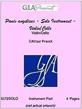 Panis angelicus - Solo Instrument - Violin/Cello - Violin/Cello - C̩sar Franck