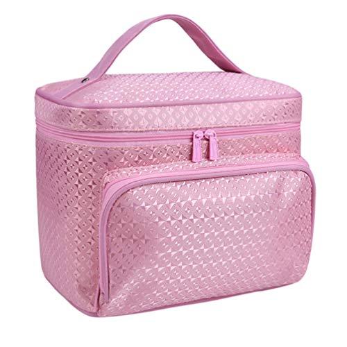 Sentaoa Trousses de Toilette Femme Portable Sacs à Cosmétiques de Voyage Pochettes de Maquillage Étui à Cosmétiques (22 * 17 * 16cm,Style 11)