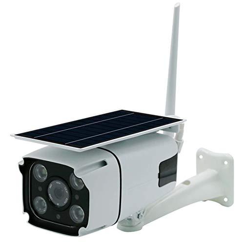 Cámara de Seguridad Solar inalámbrica al Aire Libre, cámara WiFi 1080p Detección de Movimiento HD, visión Nocturna, Audio de 2 Canales, Tarjeta SD/Almacenamiento en la Nube, ampliamente Utilizado al