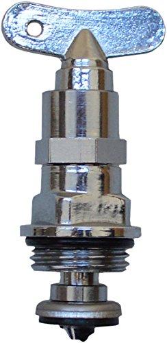 sanicomfort 1905007 Ventil-Oberteil mit Steckschlüssel, 12,7 mm (1/2