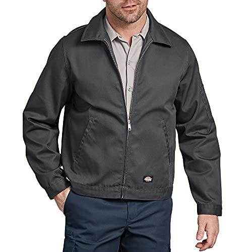 Dickies Herren Jacke Streetwear Male Jacket Unlined Eisenhower, Charcoal, M