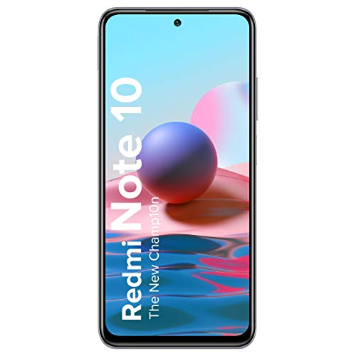 Redmi Note 10 (Frost White, 4GB RAM, 64GB Storage) - Super Amoled Display | 48MP Sony Sensor IMX582 | Snapdragon 678 Processor