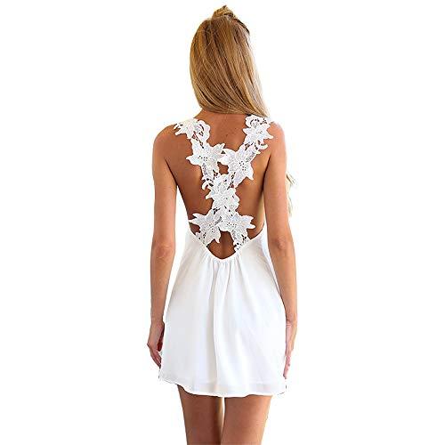 VILLAVIVI Vestido de verano para mujer, vestido de playa,...