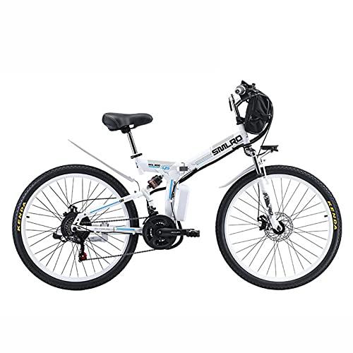 ZOSUO E Bike Elektrofahrrad Mit Batterie Abnehmbar Pedelec Mountainbike Geschwindigkeit 30Km Batterie 48V8ah Faltbares Fahrrad 26 Zoll Spoke Wheel Trekkingrad Motor 350W Höchst