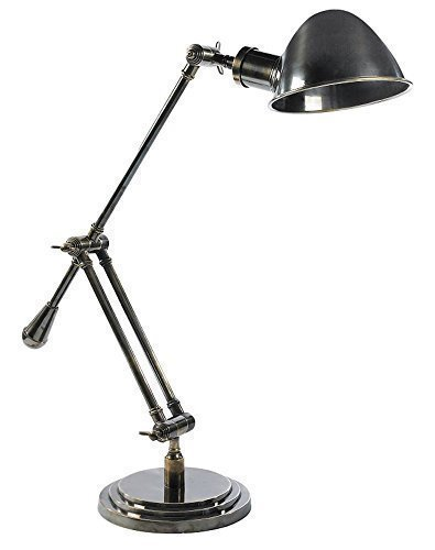 Bauhaus messing bureaulamp, klassiek modern kantoor Desk Lamp