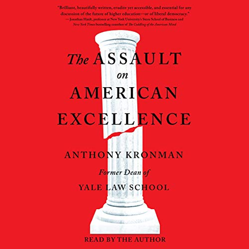 The Assault on American Excellence cover art