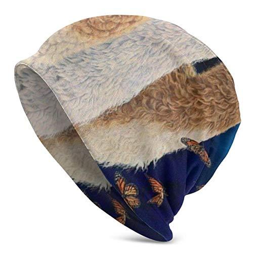 XCNGG Sombreros Gorras Skullies Gorros Women Men Slouchy Beanie Hat Soft Baggy Oversized Skull Cap Knit Hat