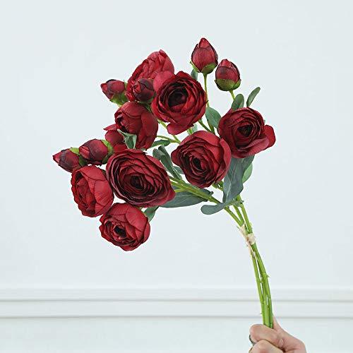 YYWK Fake bloem parfum maandelijkse bloem tie-beam fabriek direct thuis bruiloft decoratie simulatie bloem groene plant potplant