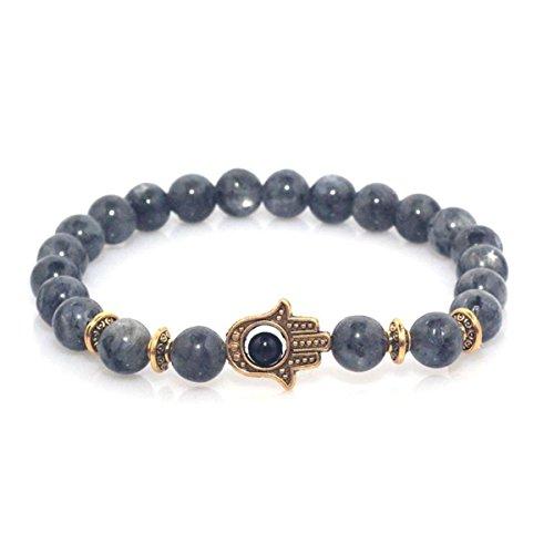 8 mm 100/% naturel rouge Oeil de Tigre Pierre Gemstone Beads Stretch Bracelet Bangle