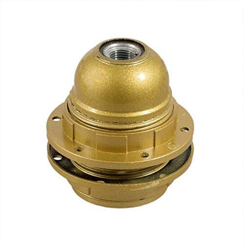 Portalámparas rosca E27 con arandelas color ocre - Accesorios para lámparas