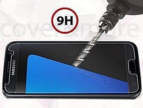 bestbuy-24 Panzer-Folie für Handy Smartphone Samsung Galaxy-A5 2016 / A510 + A5 2017 / A520, Festigkeit 9H, superdünne 0,33mm. Schutzglas Tempered Glass, Premium-Qualität