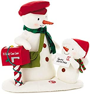 Hallmark Special Delivery Singing Snowman Techno Plush