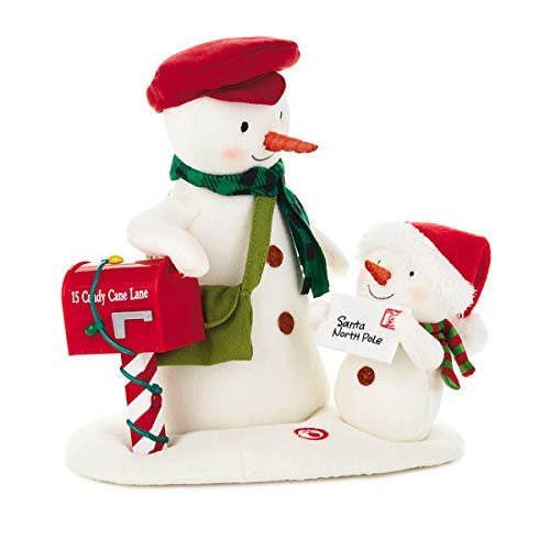 Hallmark Special Delivery Singing Snowman Techno Plush