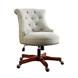 This desk chair looks so comfy and perfect for a home office for a WAHM.