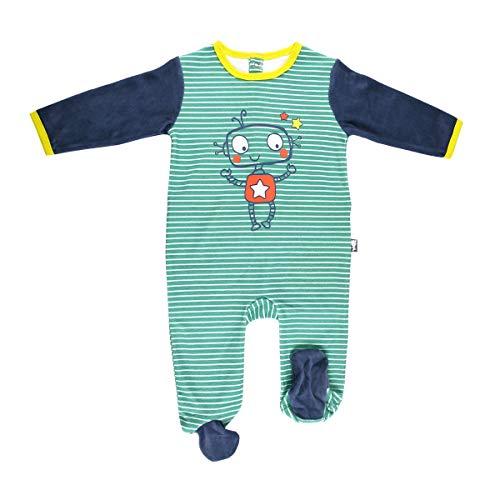 Pyjama bébé velours Illico - Taille - 24 mois (92 cm)