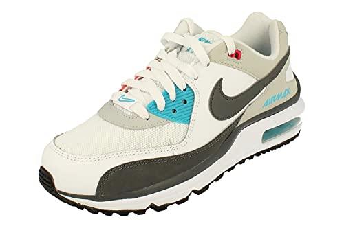 Nike Air MAX Wright GS, Zapatillas, Blanco Hierro, Gris, Gris, Niebla y Azul clorina, 35.5 EU
