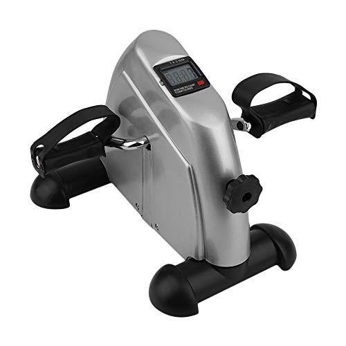 Draagbare Pedaaltrainer - Stationaire Hometrainer Venter Mini-fiets Compact Onder Het Bureau Fietspedaal Voor Armen En Benen Workout Zittend