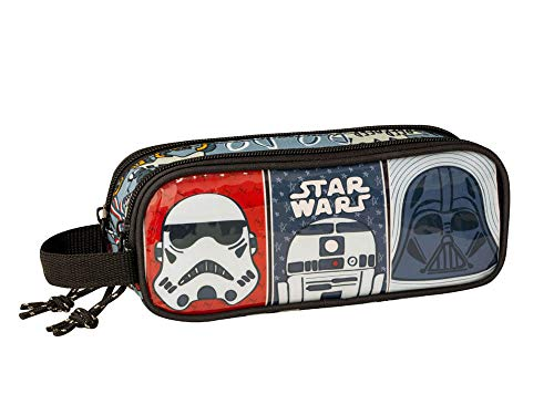 Star Wars Estuche portatodo Doble 2 Cremalleras
