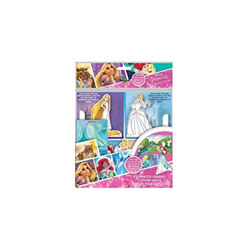 Disney- Princess Stickers et activité créatives, PSPOP1