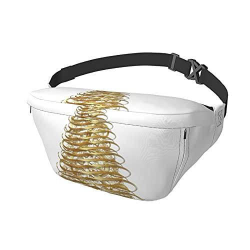 Sport-Brusttasche Sling Bag Crossbody Schulterrucksack Goldband Weihnachtsbaum Mode Trend Taille Tagesrucksack für Reisen Gym Sport Wandern Radfahren für Männer Frauen