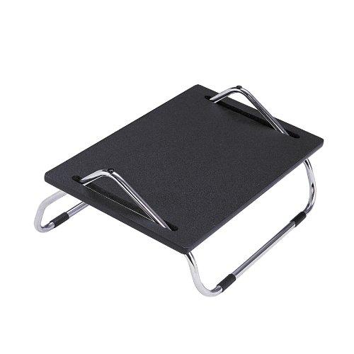 Safco Products 2106 Ergo-Comfort 8' High Adjustable Footrest, Black