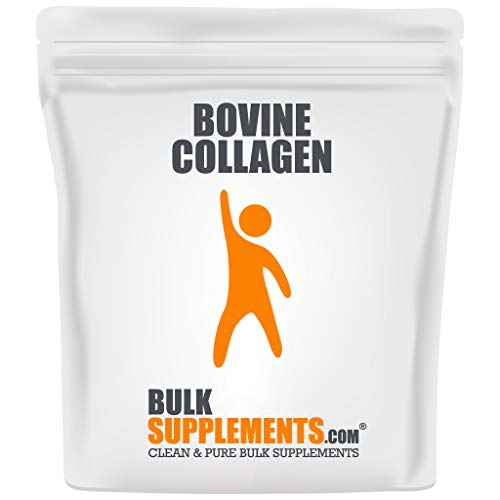 Bulksupplements.com Hydrolyzed Collagen (Bovine) Powder - Collagen Powder - Collagen Peptides Powder - Bone Broth Collagen Powder (500 Grams)
