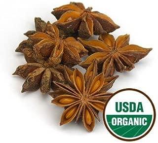 Anise Star Organic - Illicium verum, 1 oz,(Starwest Botanicals),1 oz (28 g)