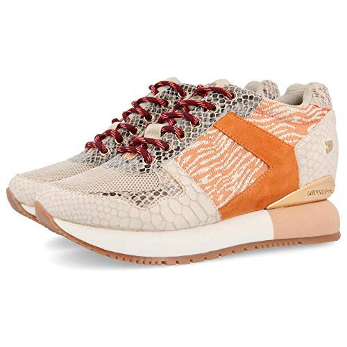 GIOSEPPO THEUX, Zapatillas para Mujer, Beige (Beig Beig), 38 EU
