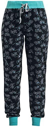 Alice im Wunderland Grinsekatze - Lächeln Frauen Pyjama-Hose Multicolor 6XL