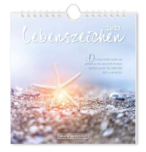 "Postkartenkalender 2021 ""Lebenszeichen"""