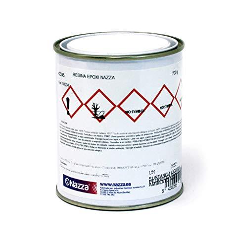 Resina Epoxi Transparente para Manualidades, Oclusiones y Encapsulados | Extraordinaria Resistencia y Dureza | 700 GR.