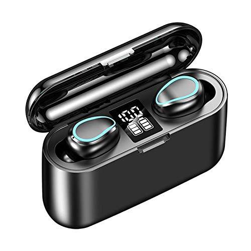 MERIGLARE Auriculares Inalámbricos con Estuche de Carga Sonido Premium para Deportes para Entrenamiento
