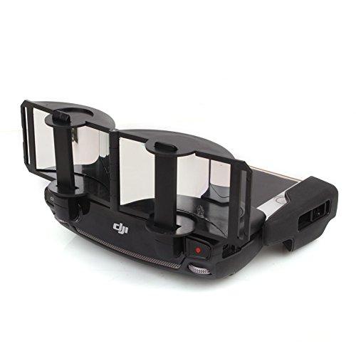 DishyKooker Fernsteuerungs-Transmitter Reichweitenverlängerung klappbar Aluminium Spiegel Signal Booster für D/J/I Mavic Pro Drohne