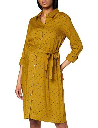 MAMALICIOUS Mlmercy L/S Woven Abk skjortklänning AOP A. Klänning