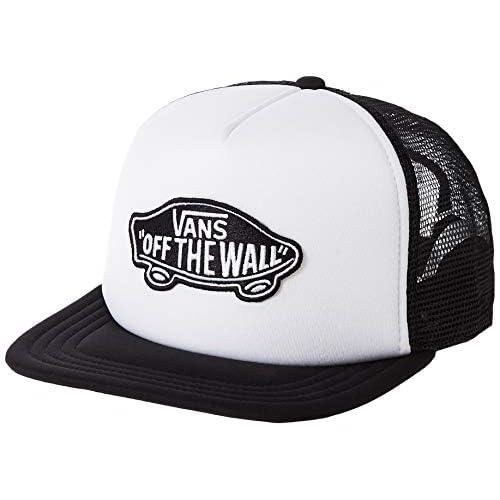 Vans Herren Classic Patch Trucker Baseball Cap, Weiß (WHITE-BLACK YB2), One Size