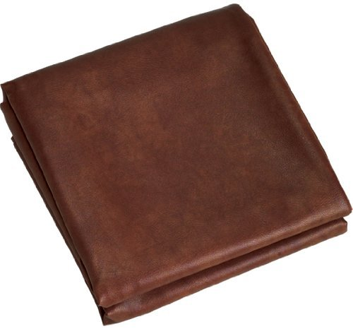 8 Foot Heavy Duty Naugahyde Billiard Pool Table Cover 8  (Brown)