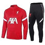zhaojiexiaodian uniformes de fútbol de manga larga, primavera y otoño, camisetas deportivas para adultos, uniformes de entrenamiento, uniformes de clubes (Figura 1, M, m)